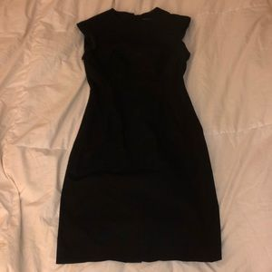 Banana Republic fitted black dress